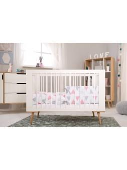 Łóżko białe kolekcja SOFIE