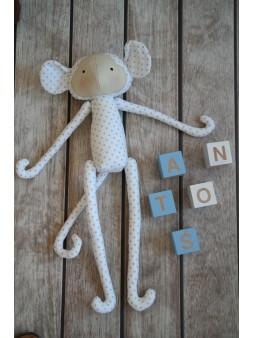 Pluszak - małpka w kropki