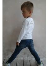 miękkie jeansowe spodnie