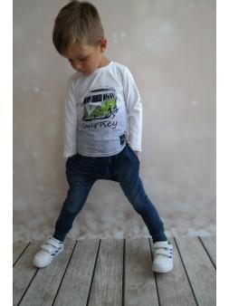 Długie spodnie a'la jeansy