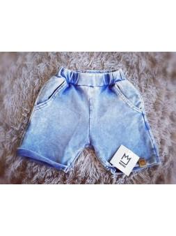Cienkie SPODENKI jeans