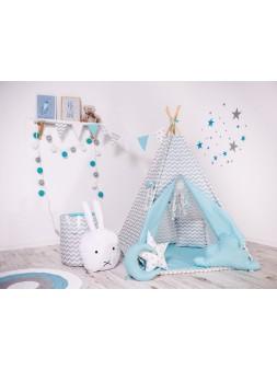 Namiot tipi - błękitna drzemka