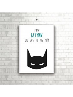 Plakat A4 Batman 3