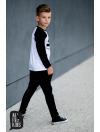 koszulka biało czarna