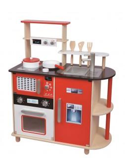 Drewniana kuchnia dla...