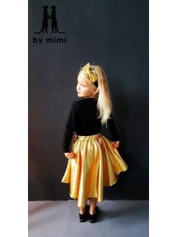 Złota spódnica, przedłużany...