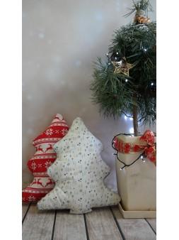 Poduszka choinka świąteczna