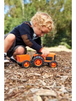 Traktor z przyczepą Green Toys