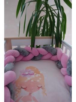 Ochraniacz na łóżeczko -...