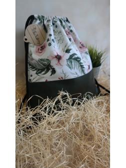Worko-plecak kwiaty