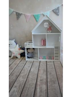 Domek dla lalek z balkonem....