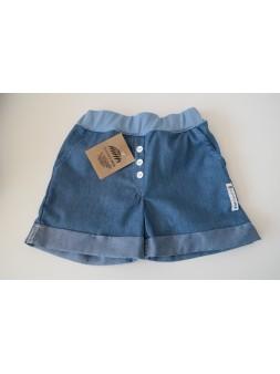 Krótkie spodenki lekki jeans