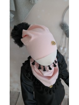 Komplet czapka + chusta,...