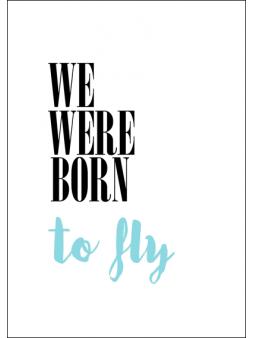 Plakat To Fly obrazek +...