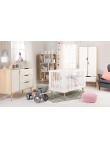 eleganckie łóżeczko dla dziecka