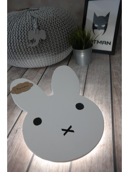 Lampka LED królik Miffy