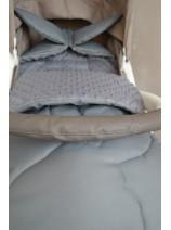 szary śpiworek dla dziecka