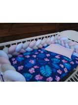 Ochraniacz warkocz bawełniany - różne kolory