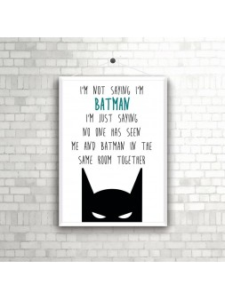 Plakat A4 Batman