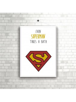 Plakat A4/A3 Superman