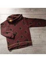 bluza w szyszki