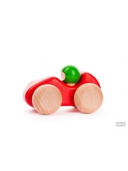 czerwony samochodzik, wyścigówka