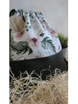 worko- plecak kwiaty