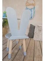 krzesełko uszy królika dla dzieci
