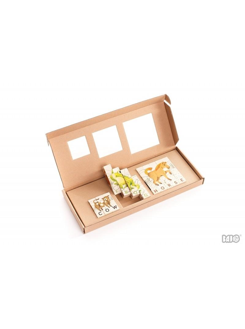drewniane puzzle bajo