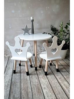 Krzesełko dla dzieci korona