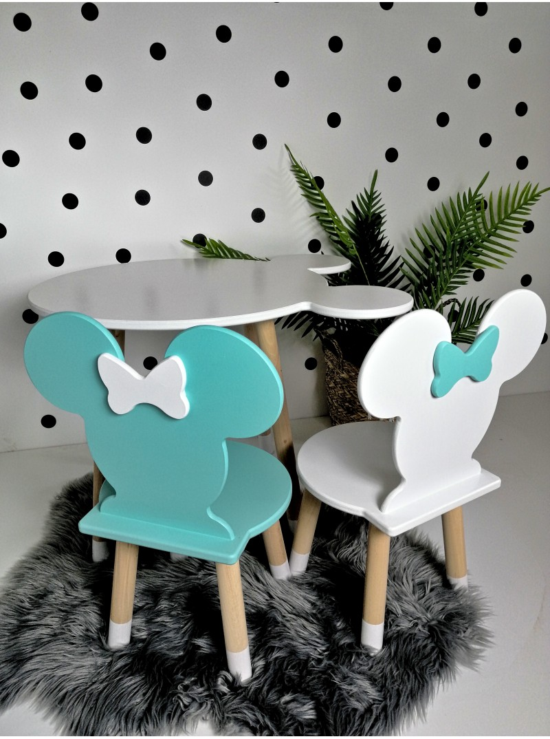 stolik i krzesełko minnie