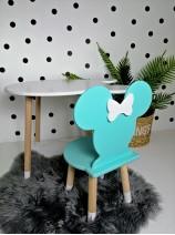 miętowe krzesełko minnie