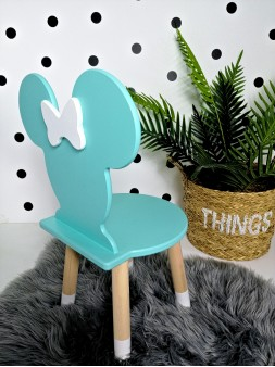 krzesełko minnie miętowe
