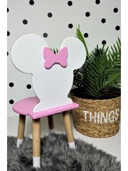 różowe krzesełko