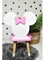 krzesełko dla dziewczynki minnie