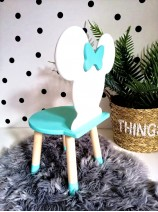 krzesełko miętowe dla dziecka