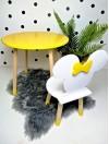 żółte meble dla dzieci miki