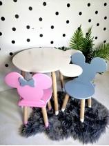 stolik i krzesełko myszka minnie