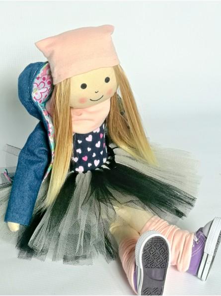 szmaciana lalka dla dziewczynki