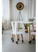 krzesełko dla dziecka uszy królika