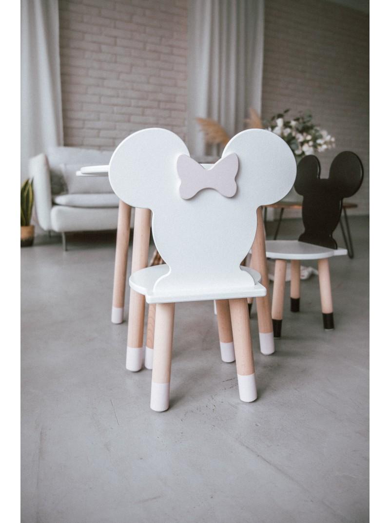 komplet mebli dziecięcych stolik i krzesełko minnie