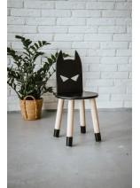 Czarne krzesełko dla dzieci Batman