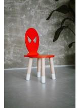 stolik i krzesło spiderman