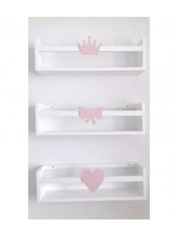 półka z dekorem