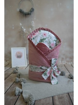 Rożek niemowlęcy różowy