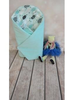 Rożek dla niemowląt niebieski