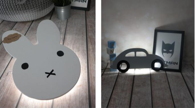 lampki do dziecięcego pokoju
