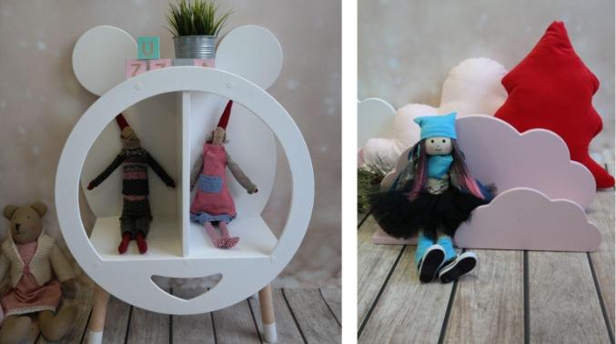 Półki do pokoju dziecięcego